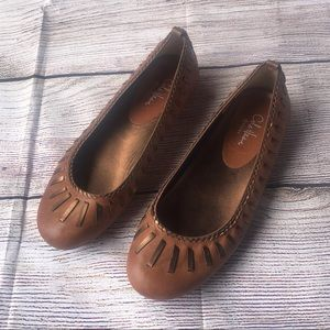 Cole Haan Brown Nike Air Flats Size 6